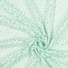 Jersey Ausbrenner Blasen 4 - Baumwolle - Polyester - Elasthan - pastellgrün