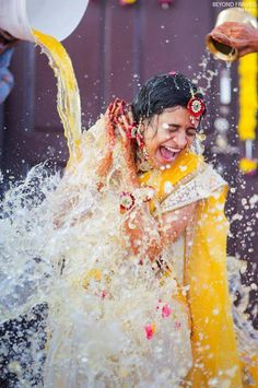 Mangalasnanam for the bride Indian Wedding Pictures, Wedding Couple Photos, Indian Wedding Couple Photography, Bridal Photography, Pre Wedding Poses, Bride Shower, Pre Wedding Photoshoot, Just For You, Haldi Function