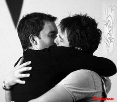 Jack and Ianto: Kiss by ~darkenrose on deviantART David Tennant Doctor Who, John Barrowman, Torchwood, Gareth David Lloyd, Girl Doctor, Captain Jack Harkness, Bbc Tv Series, Doctor Who Quotes, Rory Williams