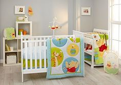 Disney Baby Winnie The Pooh Play Day Unisex Crib Bedding Comforter Set New Crib Sets, Crib Bedding Sets, Comforter Sets, Comforters, Disney Nursery, Baby Disney, Play Day, Folding Beds, Wooden Wall Decor