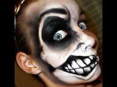 crazy mouth face paint
