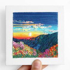 🌟Mark your calendars! Next shop update April 20th! 🌟 🌼 🌼 🌼 🌼 🌼 🌼 🌼 🌼 🌼 🌼 🌼 🌼 #carolinatorresart #abstract #spring #flowers #landscape…