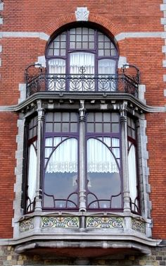 windows and balcony by suzette