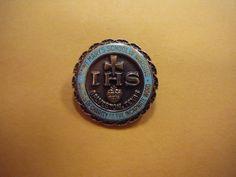 Saint Mary's School of Nursing IHS Galveston Texas 10k Gold Pin 7.3 grams #7-240