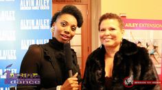 http://facebook.com/InsideNYCDance Host of Inside New York City Dance, Ashani Mfuko, with Chair and CEO of the BET Network, Debra Lee.