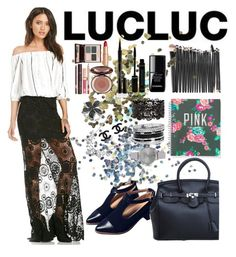 """""""Lacy"""" by selmagorath ❤ liked on Polyvore featuring moda, Topshop, Charlotte Tilbury, le top, Elizabeth Arden, Victoria's Secret, GUESS, Olivia Burton, Givenchy y Effy Jewelry"""