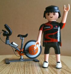 Playmobil Ciclo indoor Stationary, Gym Equipment, Cycling, Youtube, Bike, Sports, Spinning, Professor, Playmobil