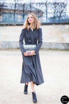 go for grey. Candela in Paris. #CandelaNovembre