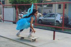 Rayssa Leal fair 8 reyes skateboarding halloween fairy butterfly fadinha