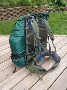 Make Your Own Gear » modular everything pack - SUH  -- BackpackingLight.com Forums