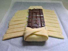 שמח במטבח: צמת שמרים, שוקולד וקוקוס