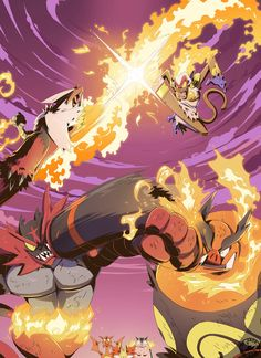 Fire Fighters by Signsoflifeonmars <<< this is awesome, but Incineroar is Fire/Dark :P