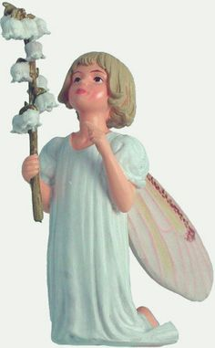 The Charm of Cicely Mary Barker's Flower Fairies has been brought to life in these precious figurines. Display them with the gold cord or use the wire pick provided to decorate flower arrangements, plants or gift baskets. Flower fairies are a special gift that all ages enjoy collecting. Little snowy bells out-springing from the stem and softly ringing tell they of a country where everything is good and fair? Price: $14.99