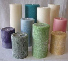 Candle Making - Types of Waxes Used in Candle Making