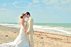 Wedding Inspiration: Robin and Kenneth's Beach Wedding in Florida