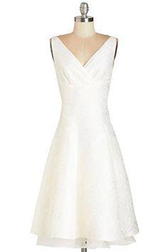 ModCloth Dreamy Day Dress, $195; modcloth.com Courtesy of Retailers  - ELLE.com