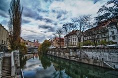 Winter reflections - Ljubljana