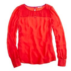 Talitha blouse in bohemian red (or in vintage berry)  I have this in green and love it.