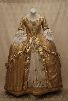 XVIII Secolo--perhaps something like the bridesmaids gowns for Marguerite and Chanda .