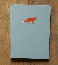 Fox Notebook - Pack of 3