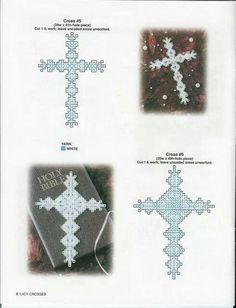 Lacy crosses