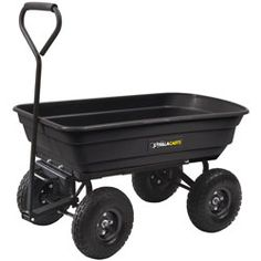 Gorilla Carts Dump Cart 600-lb. Capacity -Great for carrying wood