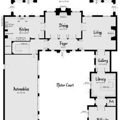 Chinook Castle Plan