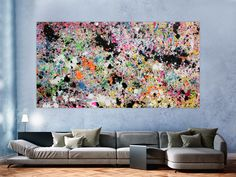 Bunt, Abstract Art, Painting, Bright Colors, Abstract, Painting Art, Paintings, Painted Canvas, Drawings