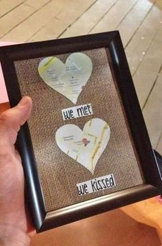 DIY Gifts For Girlfriend Anniversary Unique 31 Ideas - . - Diy Gift For Kids - Diy Gifts For Boyfriend Just Because, Diy Christmas Gifts For Boyfriend, Creative Gifts For Boyfriend, Diy Gifts For Girlfriend, Diy Gifts For Dad, Cute Valentines Day Gifts, Diy Gifts For Friends, Boyfriend Gifts, Christmas Diy