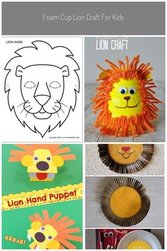 Lion Mask | Free Printable Templates & Coloring Pages | FirstPalette.com #lion craft