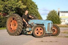 rat rod tractor