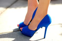 peep-toe pumps #redefinedstyle