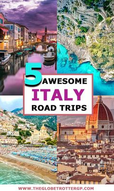 5 Spectacular Italy Road Trips You Need To Steal! If you are looking for some travel inspiration for your Europe vacation, consider a road trip in Italy. Here are 5 brilliant Italy vacation ideas including road trips in Tuscancy, the amalfi coast, dolom European Road Trip, Road Trip Europe, Road Trip Destinations, European Travel, Honeymoon Destinations, Road Trip Hacks, Road Trips, Vacation Ideas, Cool Places To Visit