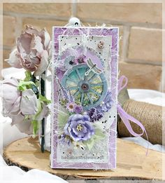 www.basiabartoszewicz.pl Chocolate Box, Mixed Media, Card Making, How To Make, Gifts, Ideas, Cards, Presents, Favors