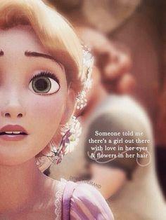 Rapunzel is the best. i love Rapunzel.
