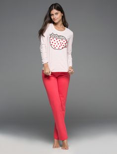 Womensecret. Pyjamas Long pyjama of Pusheen