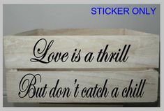 Vinyl quote Our family is tied together by heart strings sticker decal 20cm