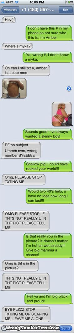 Funny+Text+Messages+Gone+Wrong | Wrong number gone bad. I laughed so hard when I saw this. amber Remo ...