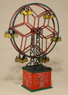 Ferris Wheel Hubley Toy Company circa 1930 : Lot 363