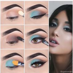 Here we have compiled simple eye makeup tips pictures. They can help you become an eye makeup expert. Here we have compiled simple eye makeup tips pictures. They can help you become an eye makeup expert. Simple Makeup Looks, Makeup Eye Looks, Eye Makeup Steps, Eye Makeup Art, Simple Eye Makeup, Makeup Eyeshadow, Makeup Monolid, Eyeshadow Palette, Drugstore Makeup