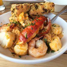 The Mooring - Newport, RI, United States. Seafood Pasta! Full of chunks of…