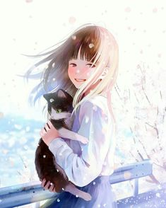 Manga Girl, Anime Art Girl, Anime Manga, Anime Girls, Dark Drawings, Amazing Drawings, Beautiful Anime Girl, I Love Anime, Image Manga