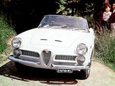Alfa Romeo 2000 Spider 1958–1961