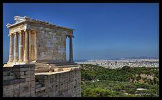 Athena's Temple - Acropolis - Athens - Greece