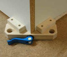 Corner Cam-Clamp Приспособление для углового соединения