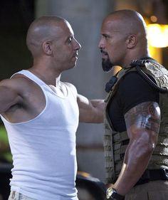 Vin Diesel and Dwayne Johnson