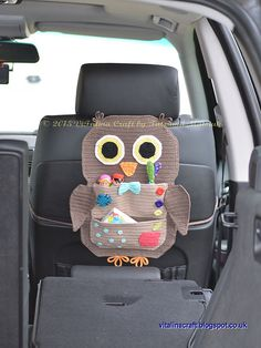 This crochet pattern is for my Owl Treasure Organiser.