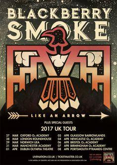 Blackberry Smoke announce UK Tour for 2017