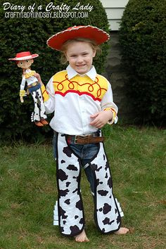 Kids Toy Story Jessie Costume | Halloween costumes | Pinterest | Costumes and Halloween costumes  sc 1 st  Pinterest & Kids Toy Story Jessie Costume | Halloween costumes | Pinterest ...