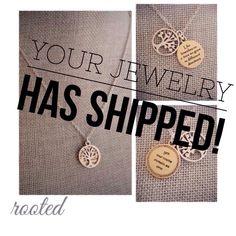 You're jewelry has shipped! #premierdesigns #jewelry #weheartpremier jessicanatali.mypremierdesigns.com